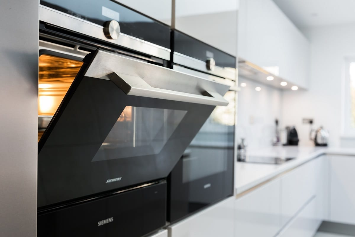 Siemens IQ700 oven and compact steam oven - Kavanagh Designs, Worthing