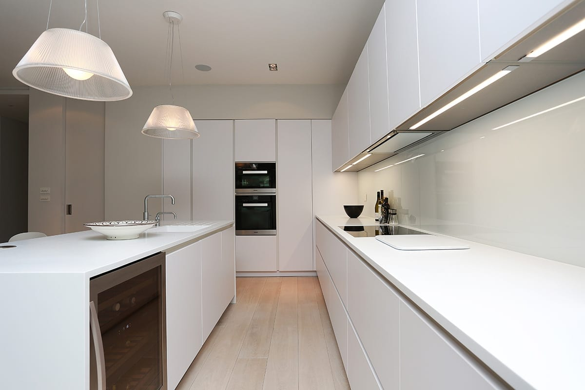 Under cabinet strip LED Lighting - Kavanagh Designs, Worthing