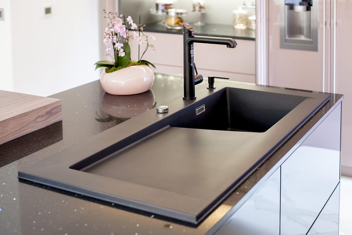 Zip Tap Blanco Silgranit sink Soap Dispenser - Kavanagh Designs, Worthing